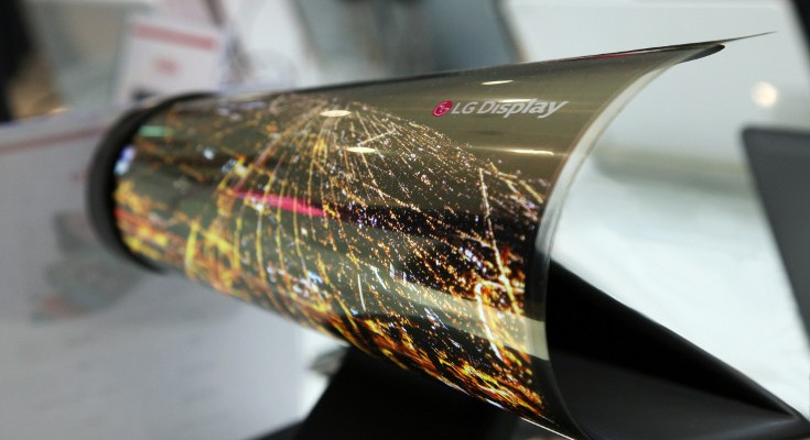 LG Display announces Rollable and Double-Sided OLED displays for CES 2016