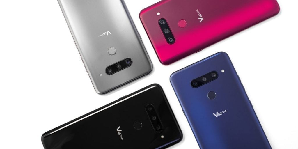LG V40 ThinQ revealed