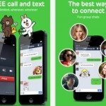LINE messaging app update