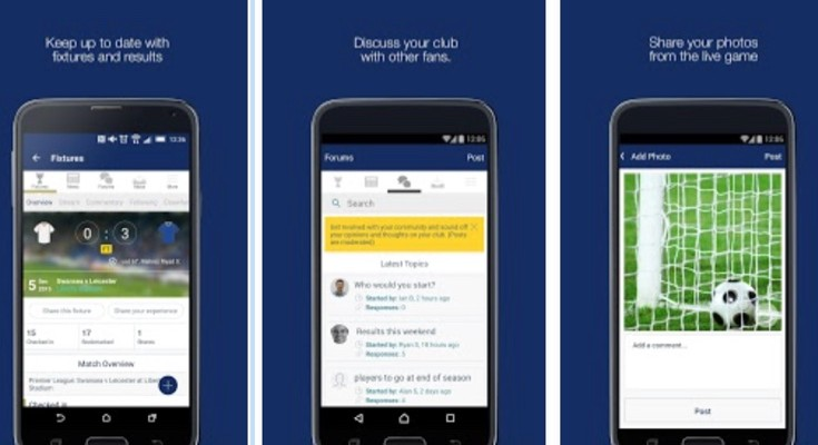 Leicester City FC fan app for Android and iOS in demand