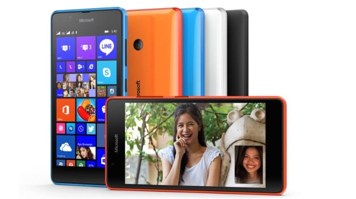 Lenovo A7000 vs Lumia 540  Dual SIM b