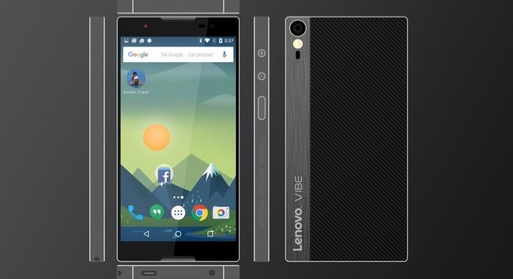 Lenovo Vibe Alpha design with comprehensive specs