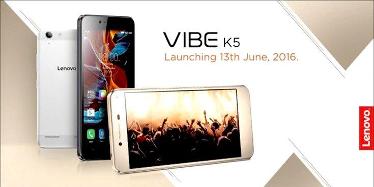 Lenovo Vibe K5 Launching in India Tomorrow