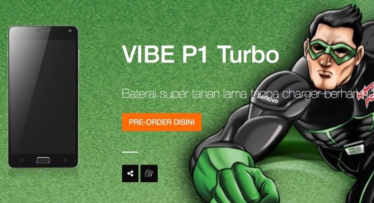 Lenovo Vibe P1 Turbo (aka P1 Pro) finally officially introduced