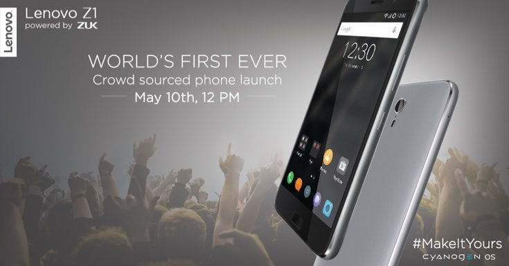 Lenovo Z1 gets May 10 crowd sourced launch date in India