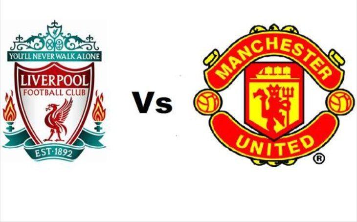 Liverpool vs Man Utd match page