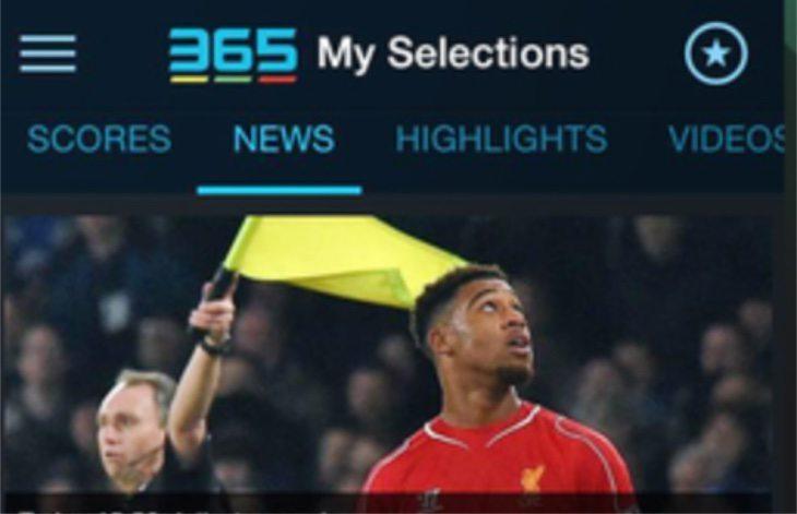 Liverpool vs Newcastle app b