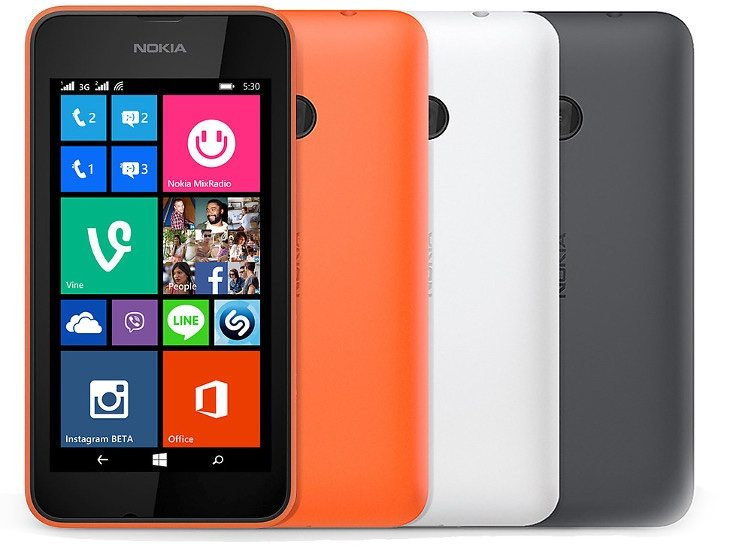 Lumia 535 vs Lumia 530 b