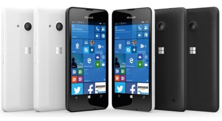 Lumia 550 in new leaked press render