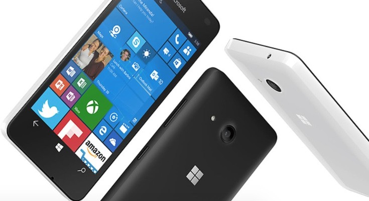 Lumia 550 vs Galaxy J2