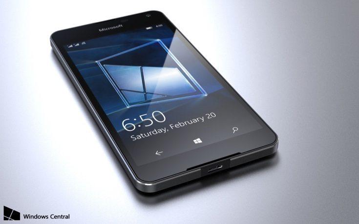 Lumia 650 renders d