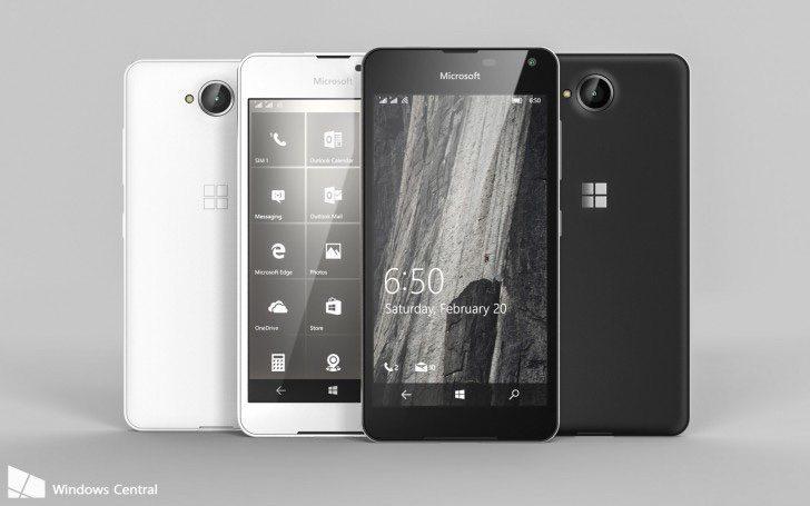 Lumia 650 renders e