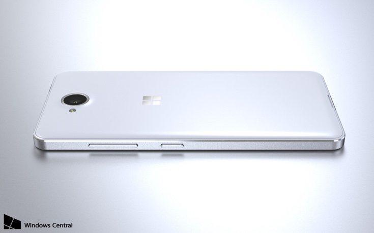 Lumia 650 renders