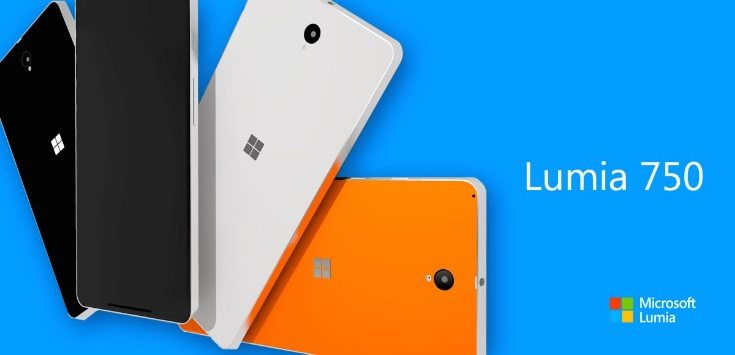 Lumia 735 render comes with specs c
