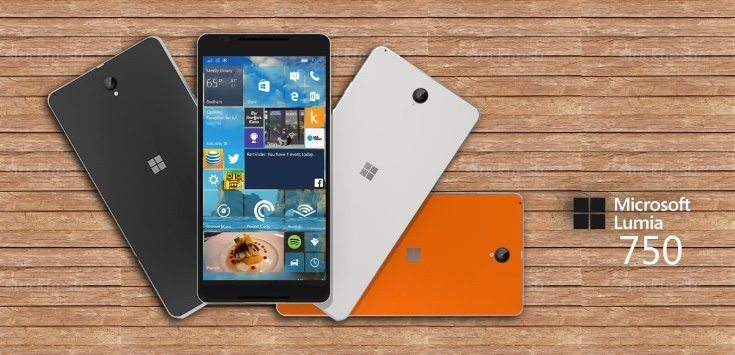 Lumia 750 render comes with specs b