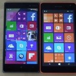 Lumia 830 Windows 10 vs Lumia 55 WP8.1