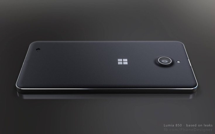 Lumia 850 3D renders c