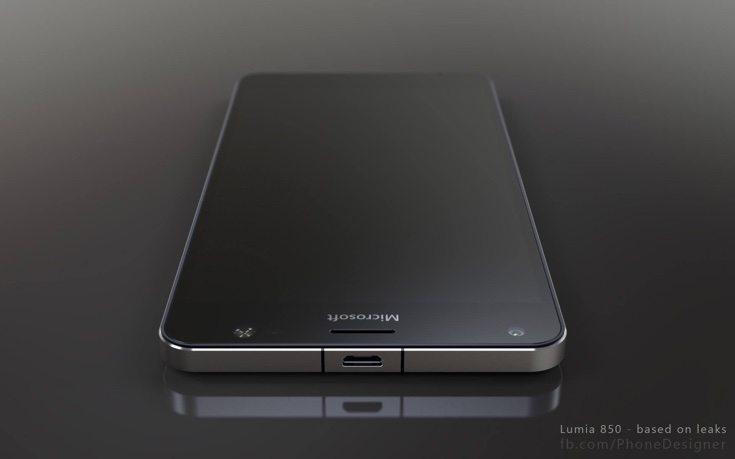 Lumia 850 3D renders d