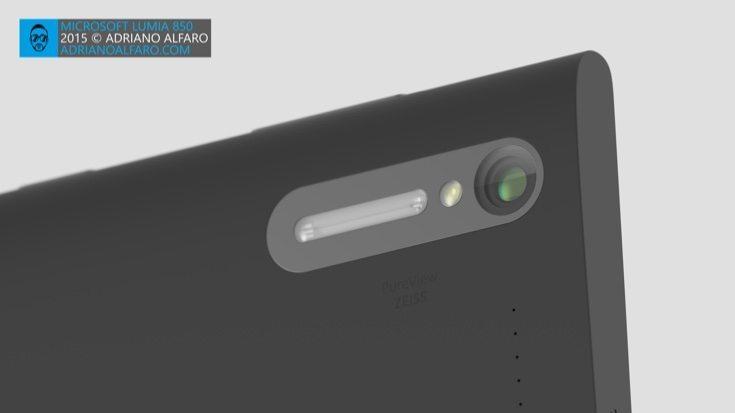 Lumia 850 design b