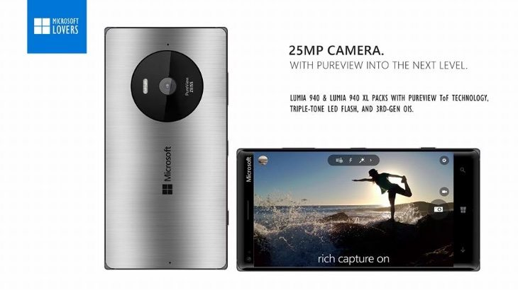 Lumia 940 and 940 XL designs b