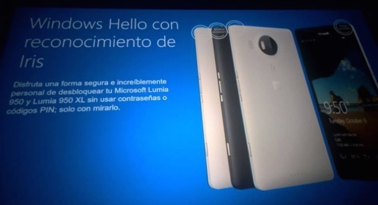 Lumia 950, XL and 550 slides leak specs b