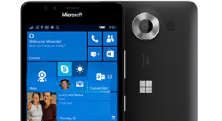 Lumia 950 price at Carphone Warehouse is lower