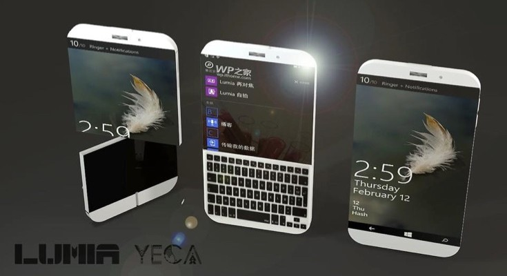Lumia Yega concept phone takes Nokia Twist inspiration