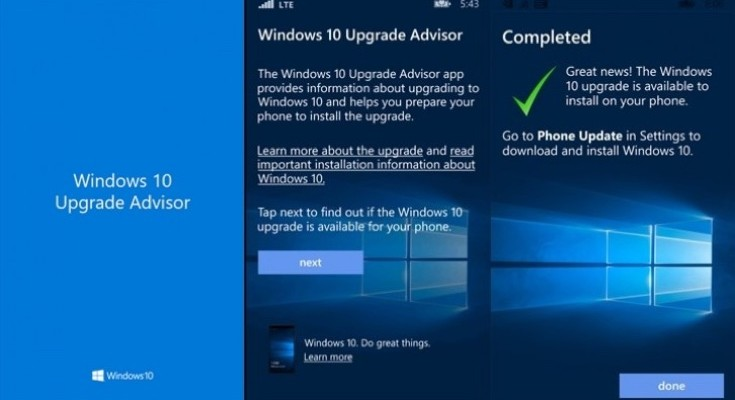 Lumia phones Windows 10 update clearer with Microsoft Upgrade app