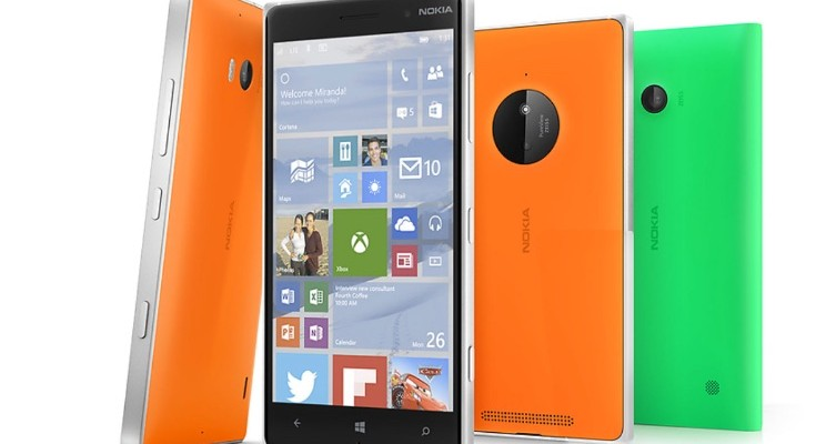 Lumia devices for Windows 10 update
