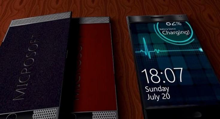 MIcrosoft Lumia 898 design