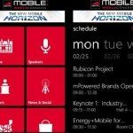 MWC 2013 Windows app for full event schedule