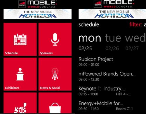 MWC 2013 Windows app for full event schedule ...