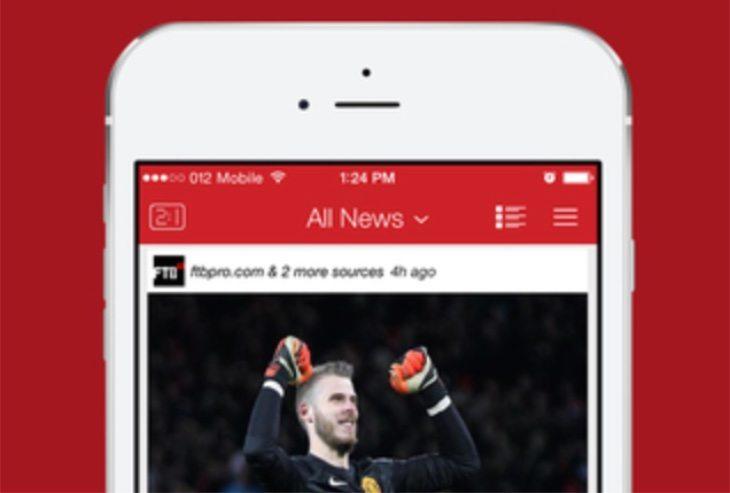 Man Utd team news app