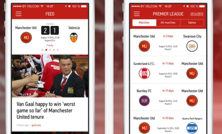 Man Utd vs Chelsea live news club apps updated