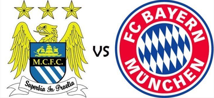 Manchester City vs Bayern Munich b