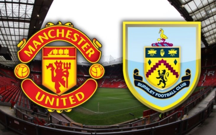Manchester United vs Burnley lineups, cards, live score alarm