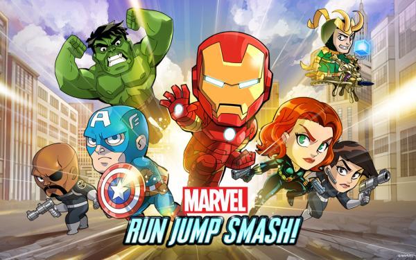 Marvel Run Jump Smash speeds onto Android