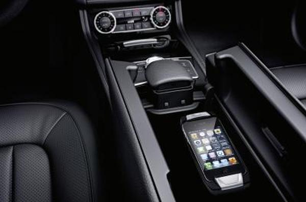 Mercedes benz cls shooting brake iphone ipad accessories for Mercedes benz cell phone cradle