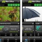 Met Office UK warnings via mobile app