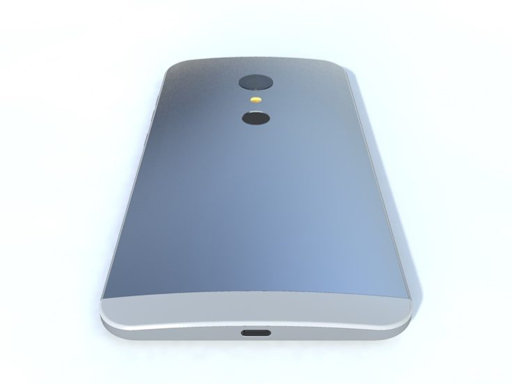 Metal flagship phone design b