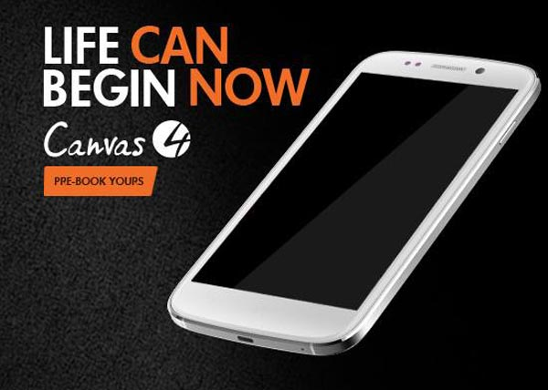 Micromax Canvas 4 specs to outdo Karbonn S9 HD