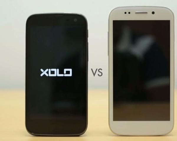 Micromax Canvas 4 vs Xolo Play T1000 for India