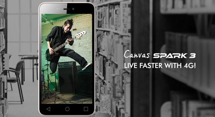 Micromax Canvas Spark 3 specs listed before launch