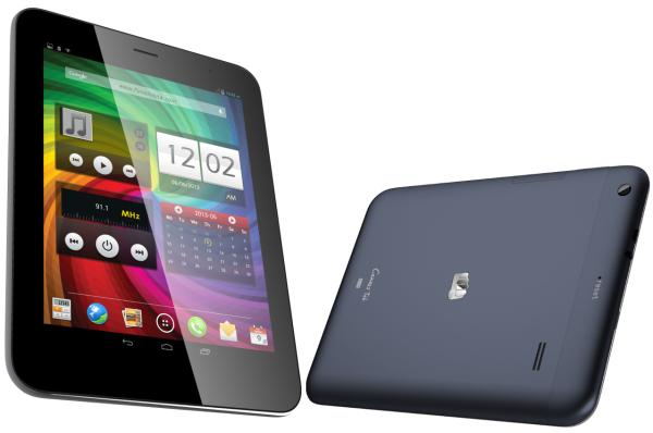 Micromax Canvas Tab P650 includes Android phone features