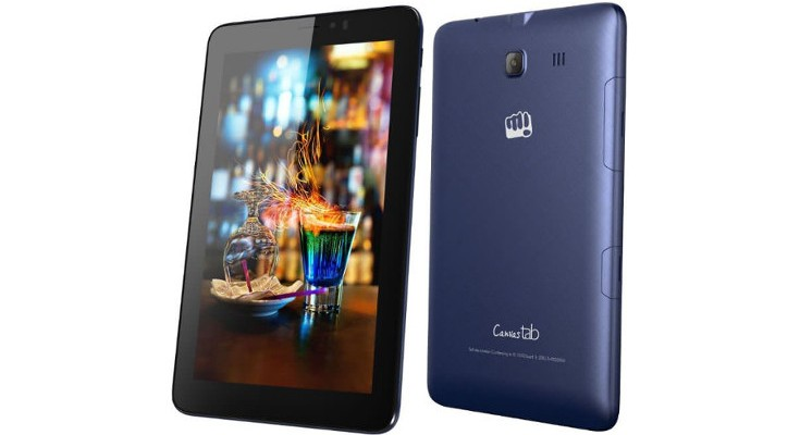 Micromax Canvas Tab P701 launched with LTE for Rs. 7,250