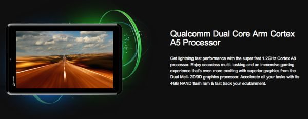 Micromax Funbook P600 Android 7-inch Tablet for India Only