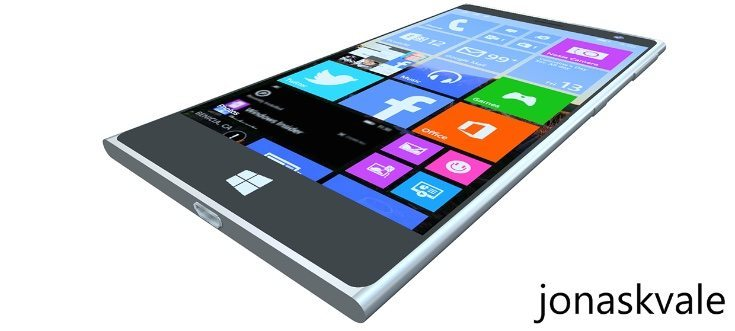 Microsoft Lumia 2000 design