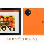 Microsoft Lumia 2530 design