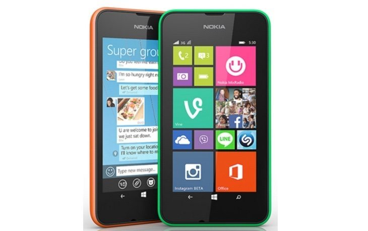 Microsoft Lumia 532 vs Nokia Lumia 530 b