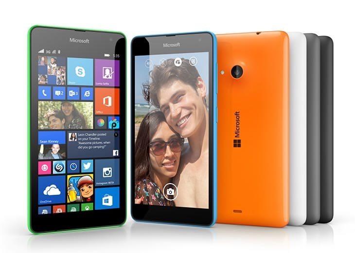 Microsoft Lumia 535 vs Samsung Galaxy Core Prime b